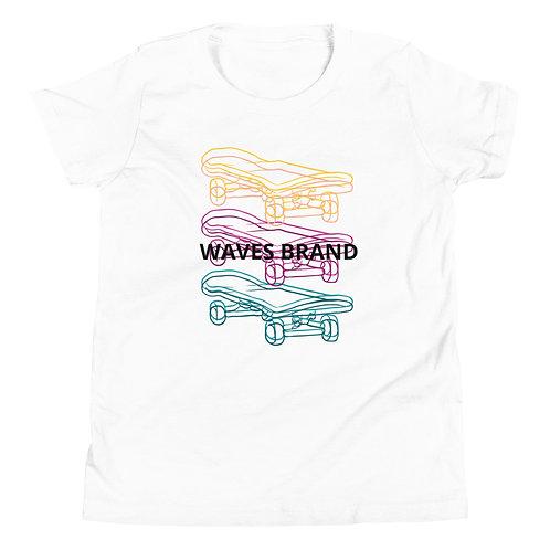 Youth Skateboard Short Sleeve T-Shirt