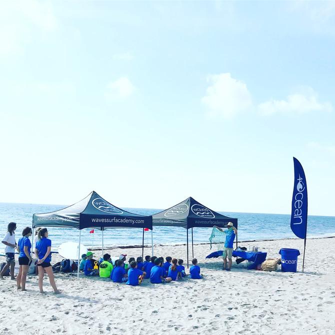 Keeping our beaches clean!!