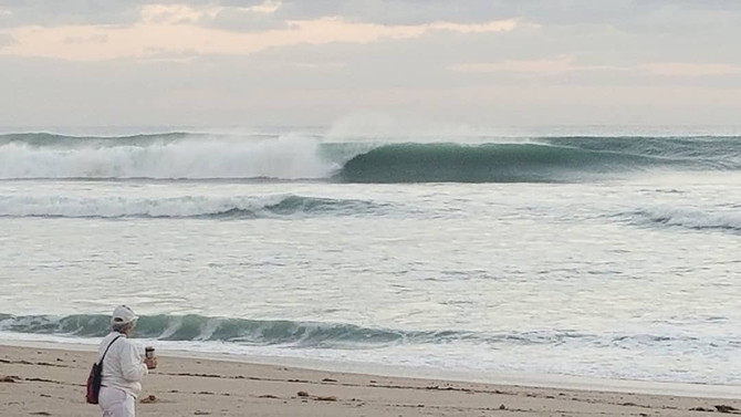 Biggest Swell Of 2018 In Delray Beach!!