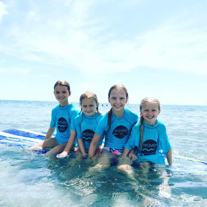 Waves Spring & Summer Surf Camp 2019!