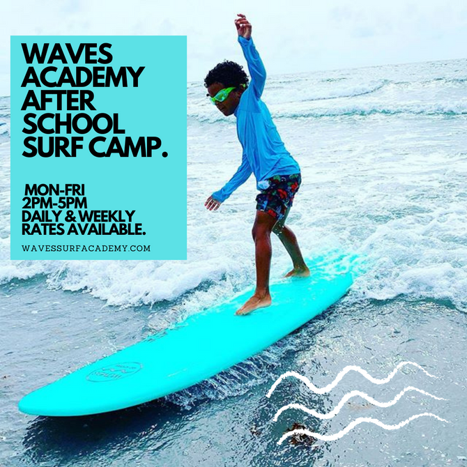 REGISTER NOW FOR AFTER SCHOOL SURF CAMP!