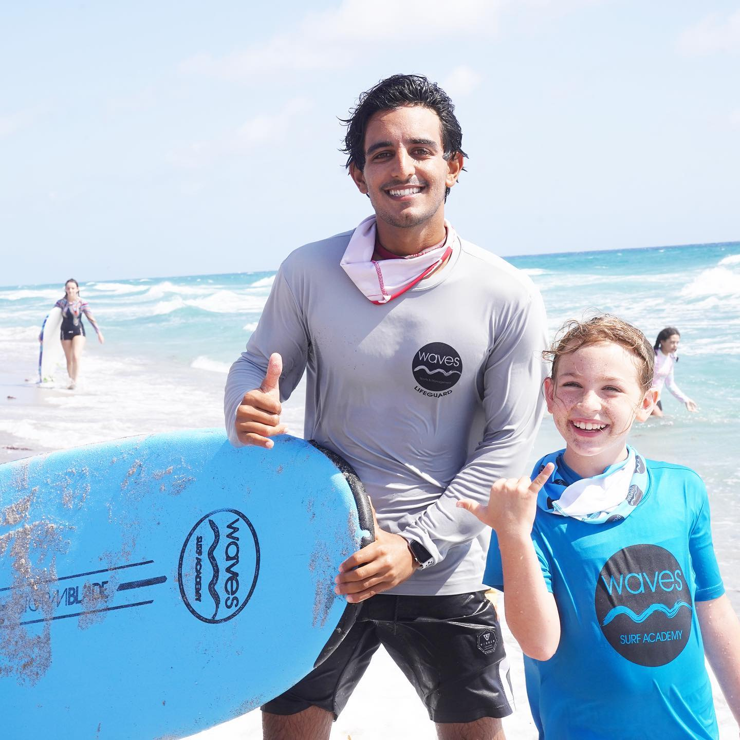 Professional Surf Instructors
