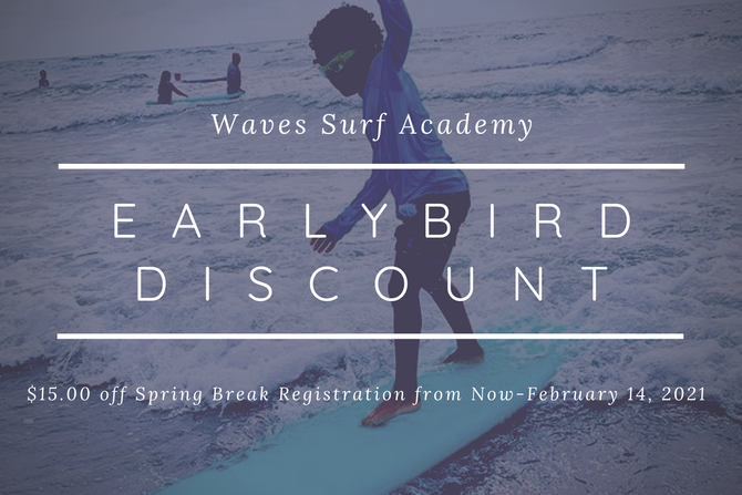 Spring Break Surf Camp Discount