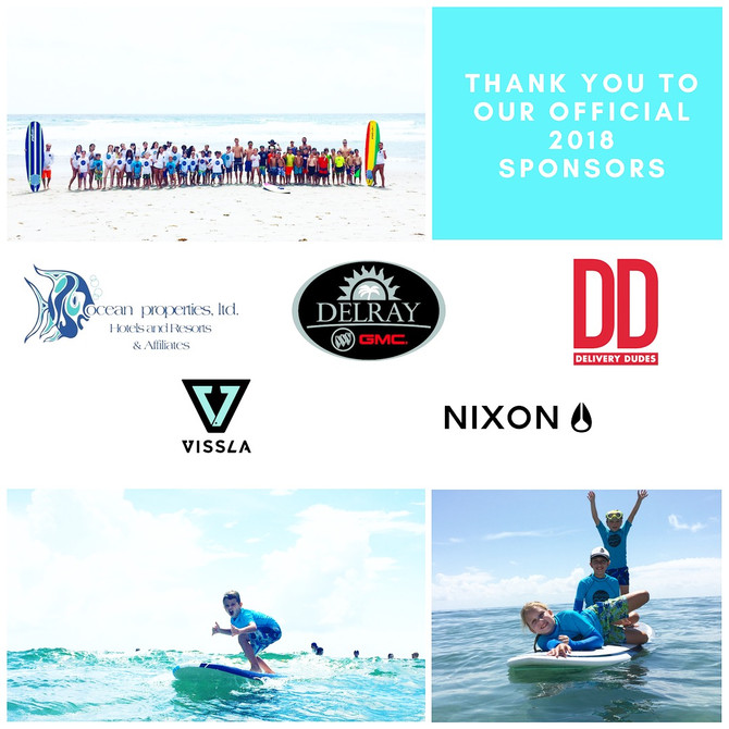 Thank You To Our Official 2018 Sponsors!!!