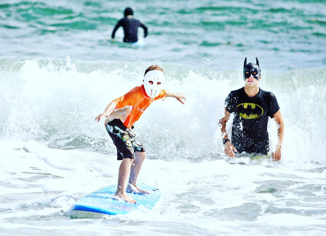 Happy Halloween From Waves Surf Academy!!!
