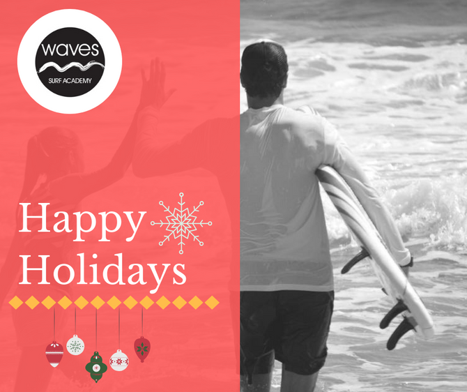 Happy Holidays From Our Surf Family To Yours!