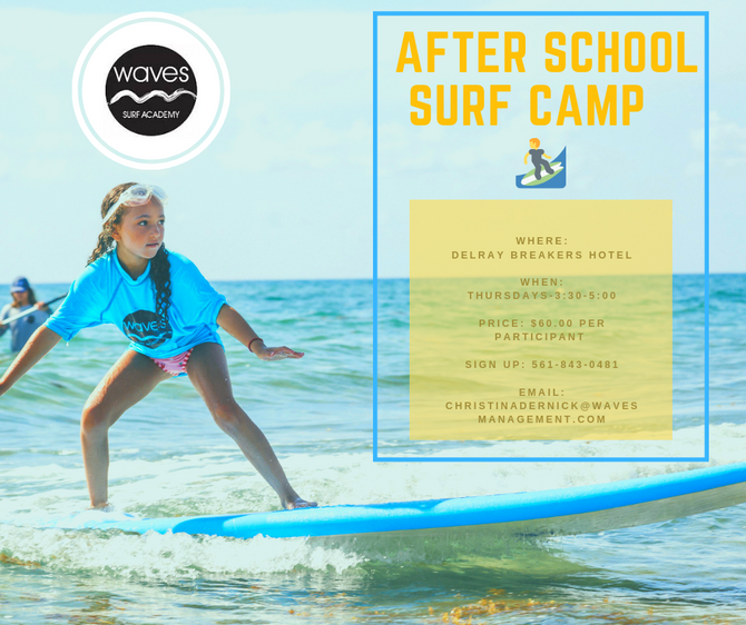 AFTER SCHOOL SURF CAMP!