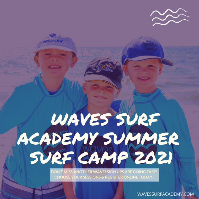 DON'T MISS ANOTHER WAVE & REGISTER FOR SUMMER CAMP!