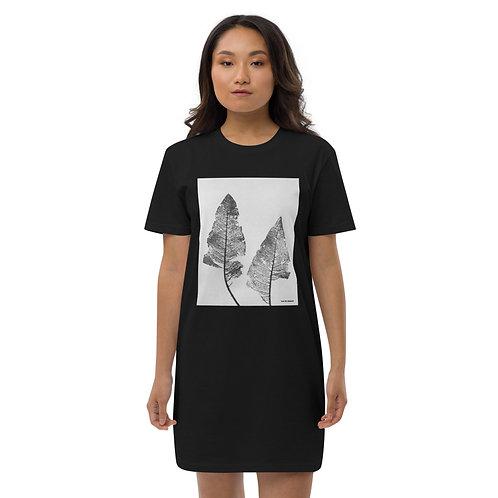Leaf - Organic cotton t-shirt dress