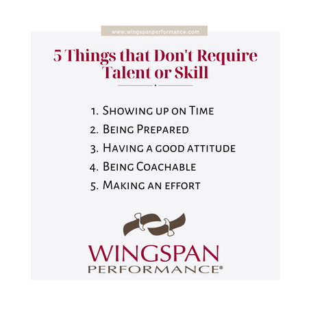 5 Things That Don't Require Talent or Skill