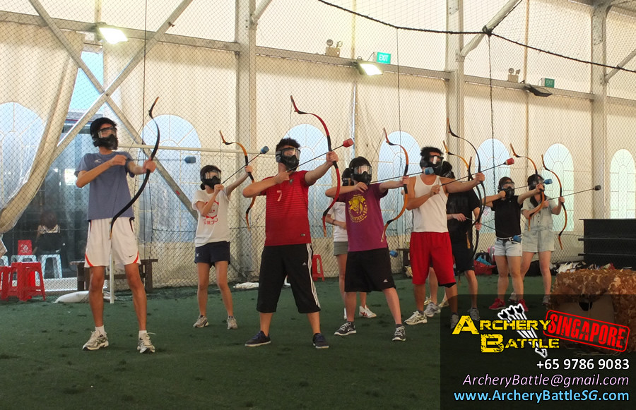 Let's shoot! Archery Tag Singapore Casual Game for Friends