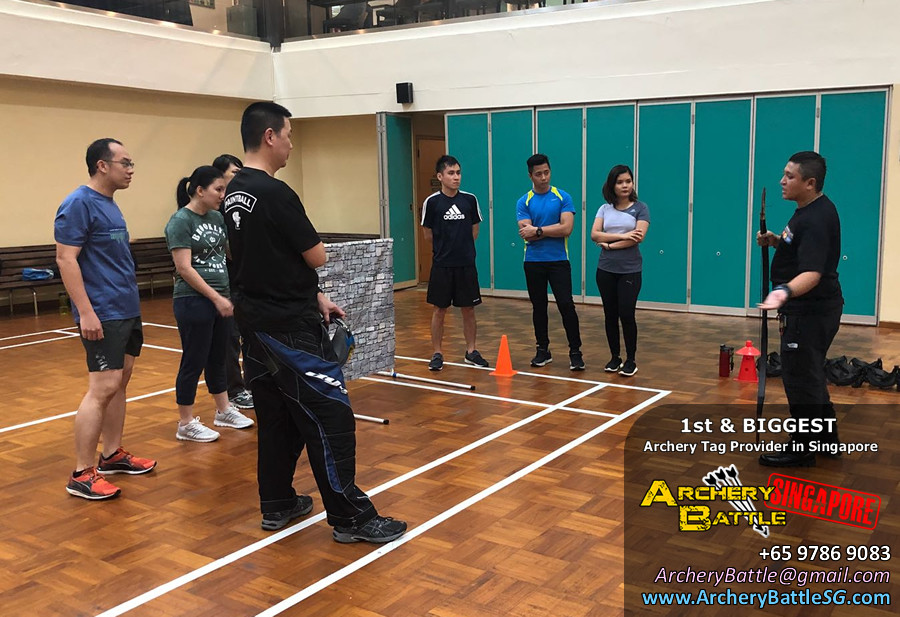 Changi Airport Archery Tag Game Rules Briefing