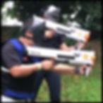 Hades Rifle for RIVAL TAG Nerf team building events