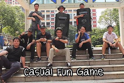 Laser Tag Singapore Casual Fun Games with friends & cohesion