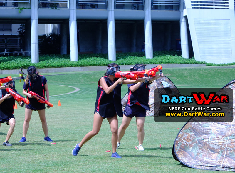 Move forward and conquer! NERF Team Building & Cohesion at National University of Singapore