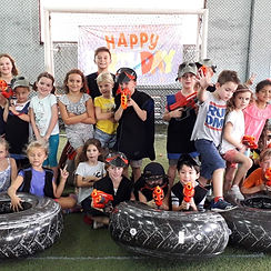 Laser Tag Singapore birthday party for kids