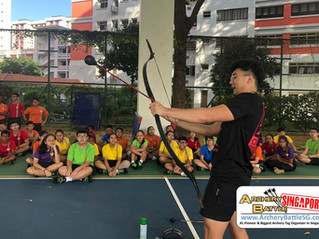 Archery Tag for 200+ Students