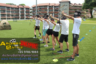 Archery Tag at NTU Campus
