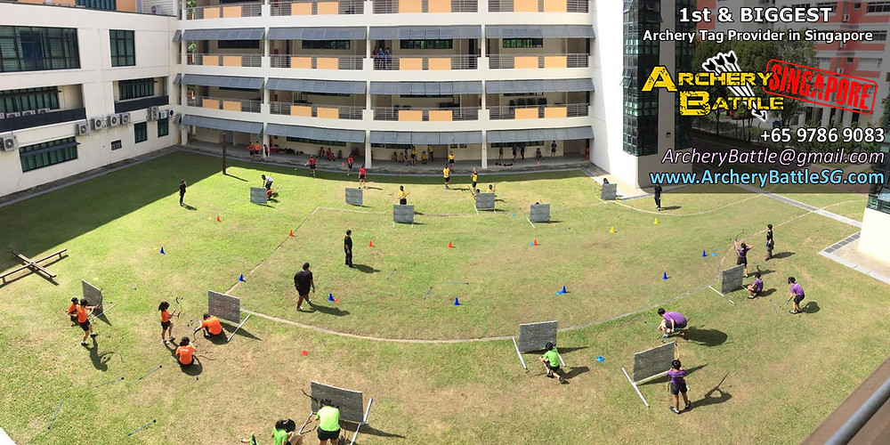 Panoramic view of 60 pax Archery Tag for students