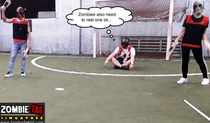 Zombie Resting