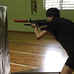 Laser Tag Singapore play in multi-purpose hall