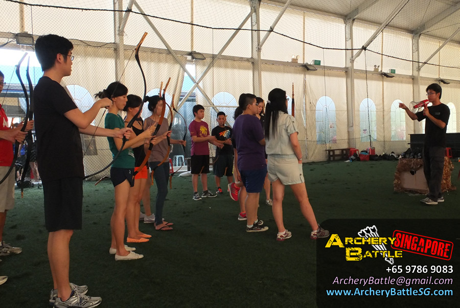 Briefing of Rules and Techniques | Archery Tag Singapore Casual Game for Friends