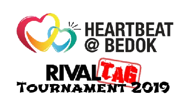 Heartbeat Bedok NERF Rival Tag Tournament 2019 Logo
