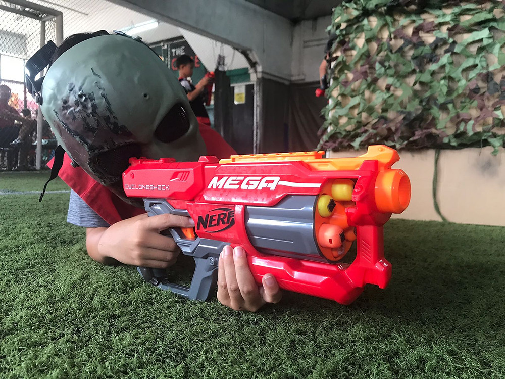 Safety measures in a NERF event