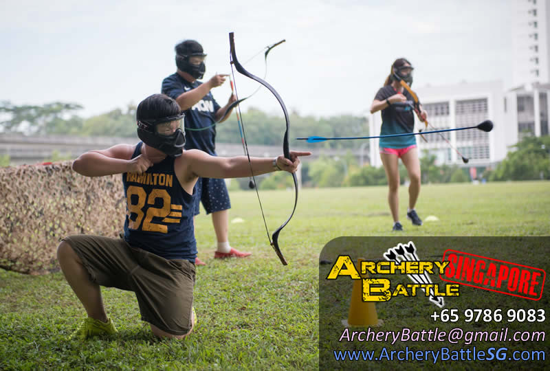 Let the arrow fly! Archery Tag in the Punggol neighbourhood!