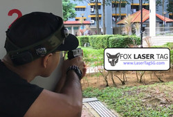 Laser Tag played at Bishan