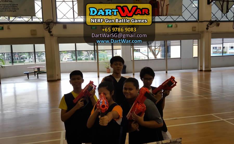 Group photo - Dart War NERF Gun Party & Team Building