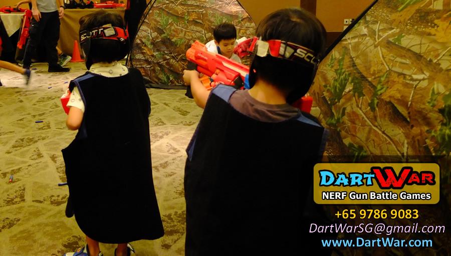 NERF Gun Battle Games for Birthday Party