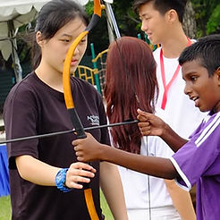 Professional Archery Tag Singapore coaches