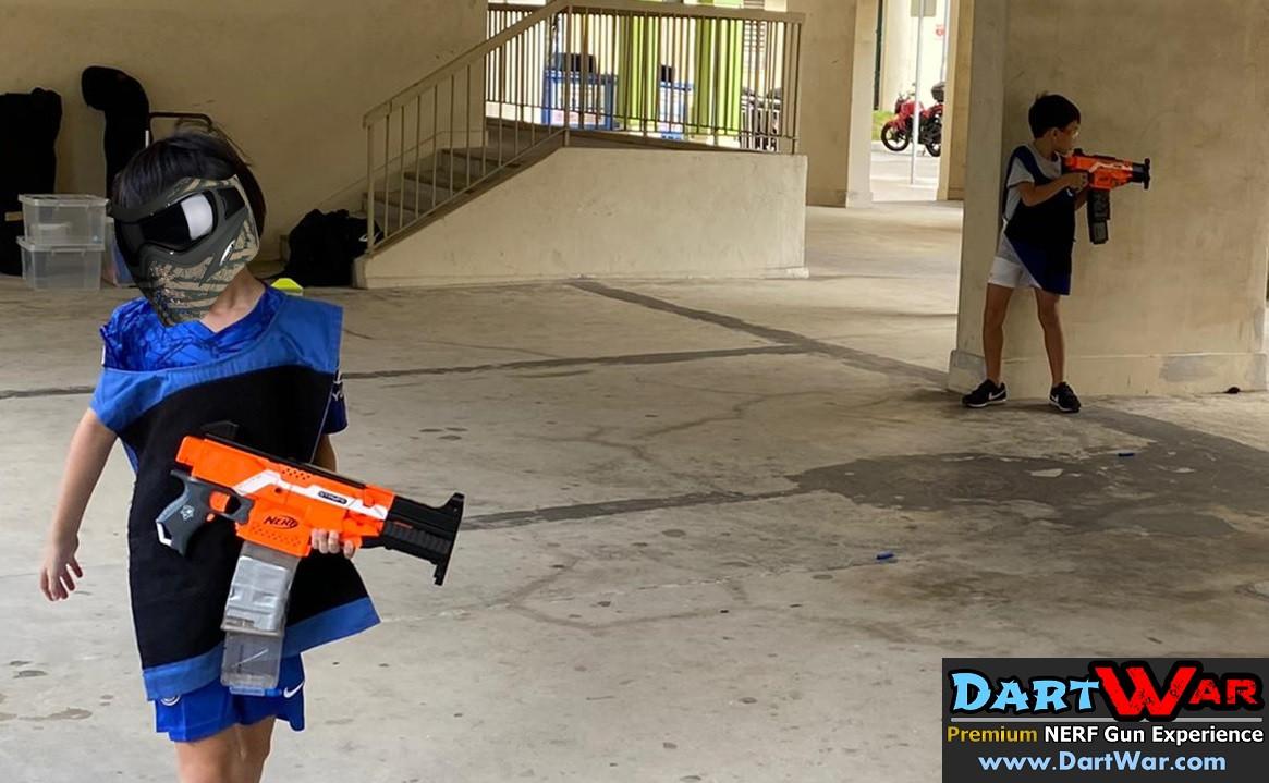 HDB Nerf Action