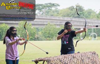 Archery Tag at Punggol Field