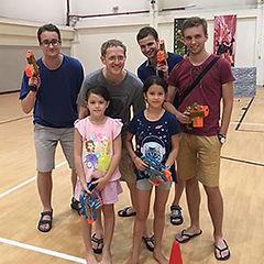 Laser Tag Singapore kids birthday party