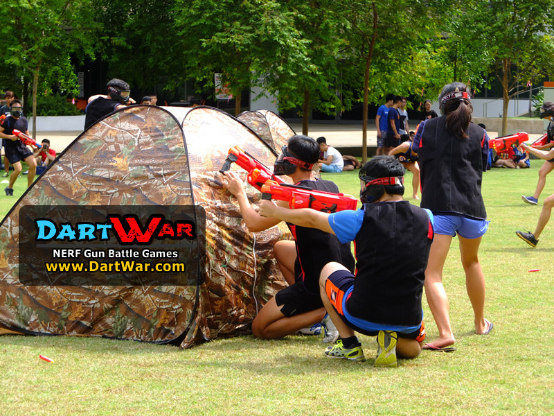 Take cover! NERF Team Building & Cohesion at National University of Singapore