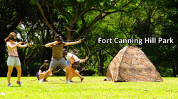 Fort Canning Hill Park
