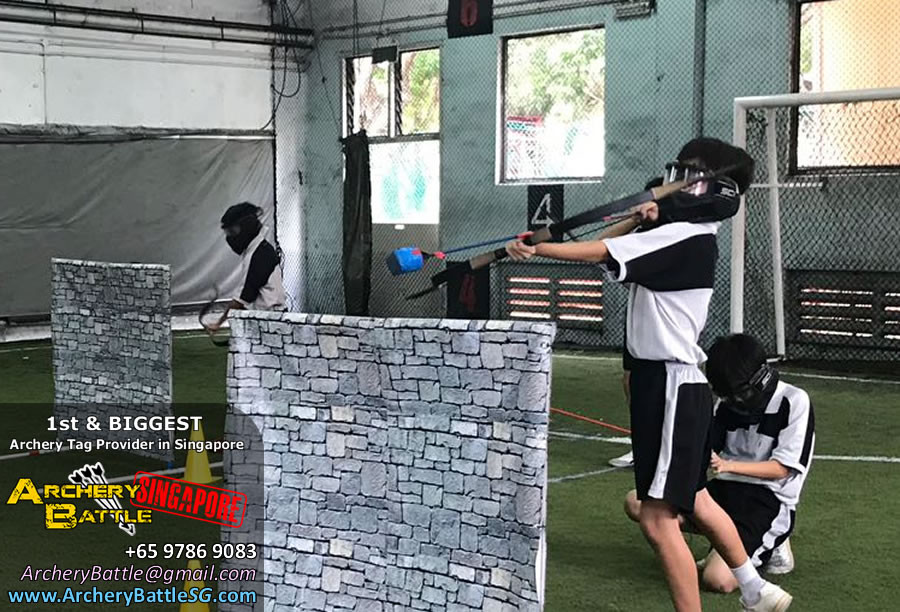 New method of shooting Archery Tag Singapore?