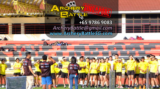 Archery Tag for Victoria Junior College