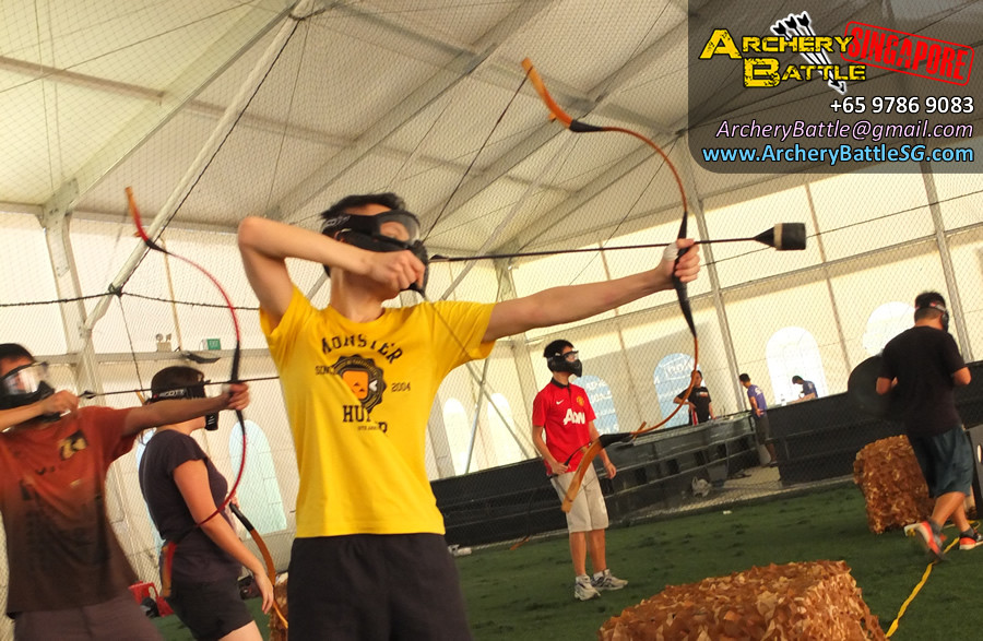 Go for gold! Archery Tag Singapore Casual Game for Friends
