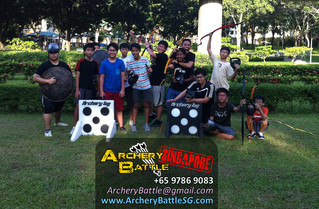 Archery Tag at Tampines Park