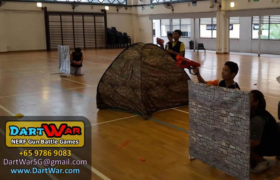 Take cover - Dart War NERF Gun Party & Team Building