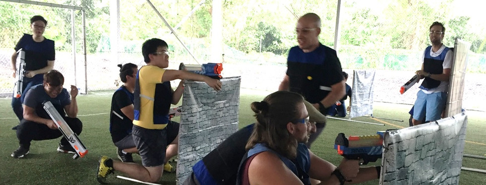 RIVAL TAG Nerf Team Building