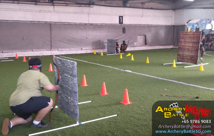 Change of mission mode for Kranji Camp Archery Tag game