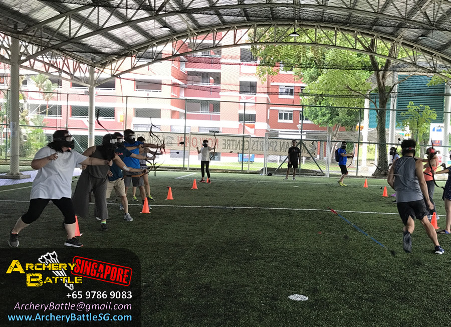 Speed is the key! Archery Tag Singapore