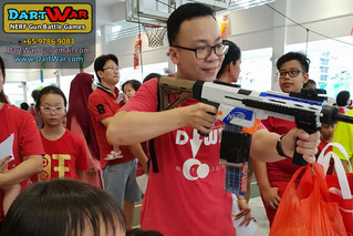 NERF Shooting Booth - National Day 2018