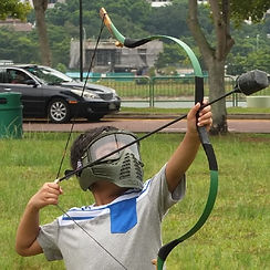 Safe Padded Arrows for Kids Archery Tag events