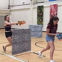Play Laser Tag in school halls, function rooms, or even in your office!