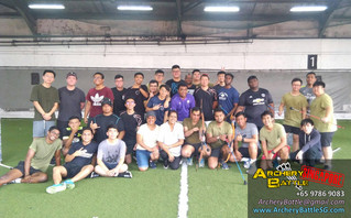 40 pax Year-End Archery Tag Cohesion